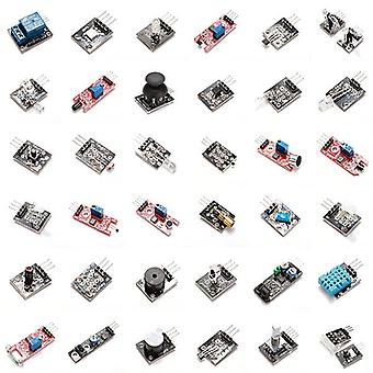 37 In 1 sensor module board set starter kits - products that work with official arduino boards
