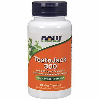 الآن الأطعمة TestoJack 300 قوة اضافية، 60 Vcaps
