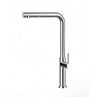 Kitchen Single-lever Sink Mixer With High Swivel Spout - 46