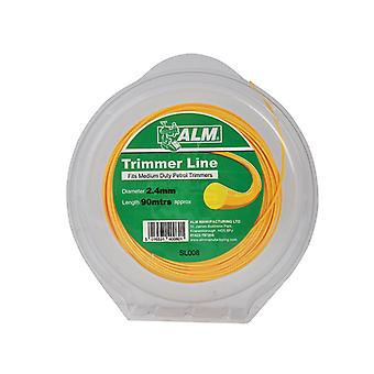 ALM Manufacturing SL008 Medium-Duty Petrol Trimmer Line 2.4mm x 90m ALMSL008