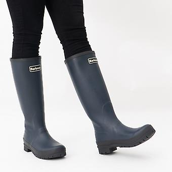 Barbour Abbey Ladies Tall Wellington Boots Navy