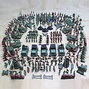 307pc Of Army Play Set With Realistically Scaled Figures And Assortiment