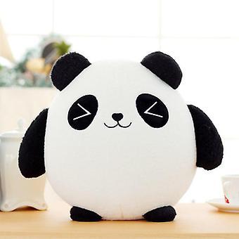 Panda plysch djur docka, Fortune Fyllda, Lucky Cat för bil dekoration