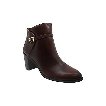 Alfani Women's Shoes Nadenne Leather Closed Toe Ankle Fashion Boots