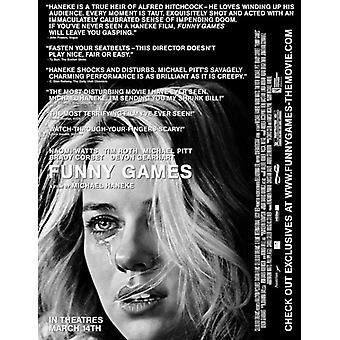 Hauska pelit US elokuvan juliste tulosta (27 x 40)