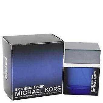 Michael Kors Extreme Speed By Michael Kors Eau De Toilette Spray 2.4 Oz (men) V728-541627