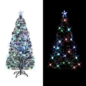 Artificial Christmas tree with stand/LED 210 cm 280 branches