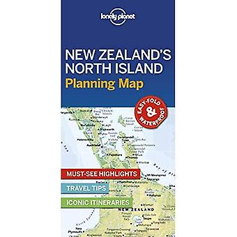 Lonely Planet New Zealand's North Island Planning Map (Map)