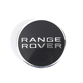 Black Range Rover Wheel Center Cap Hub Badge 63mm 1 PCS For Evoque Defender Discovery Sport Velar Freelander