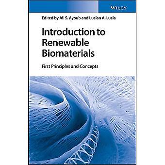 Inleiding tot hernieuwbare biomaterialen: eerste principes en concepten