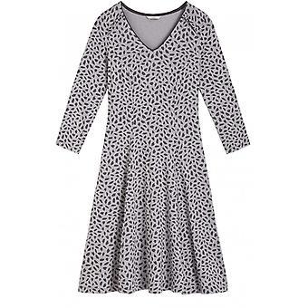 Sandwich Clothing Grey Patterned Jersey Dress
