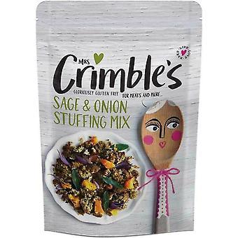 Mrs Crimbles Sage & Onion Stuffing Mix 150g x6