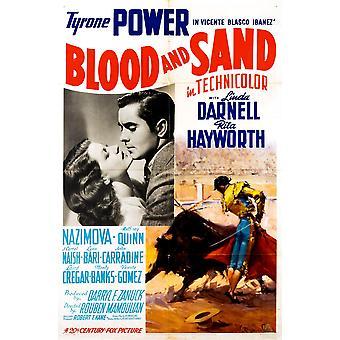 Blut und Sand Film Poster Masterprint