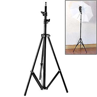 68cm-200cm Height Professional Photography Aluminum Lighting Stand for Studio Flash Light(Black)
