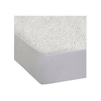 Fitted Waterproof Mattress Protector With Bamboo Fibre Double Size
