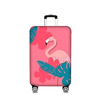 Pink Duck Printedtravel Luggage Protector