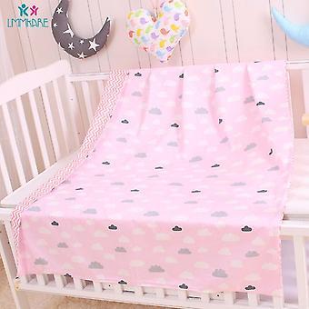 Cotton Newborns Baby Duvet Cover, Cartoon Soft Baby Bedding Quilt Blanket