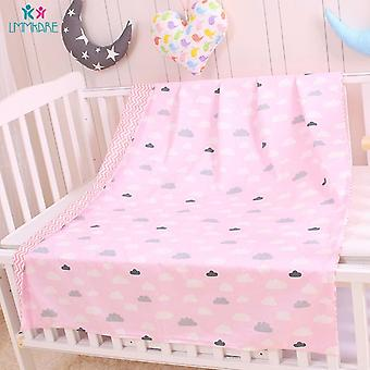 Cotton Duvet Cover - Soft Bedding Quilt Blanket For Newborns