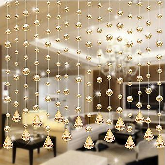 Luxury Glass Beads String Curtain