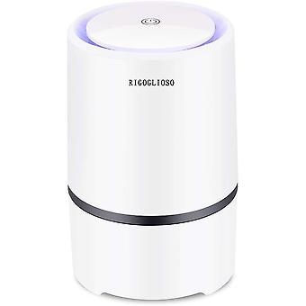 Luftreiniger Reiniger für zu Hause, USB-Kabel Low Noise, mit Nachtlicht Desktop