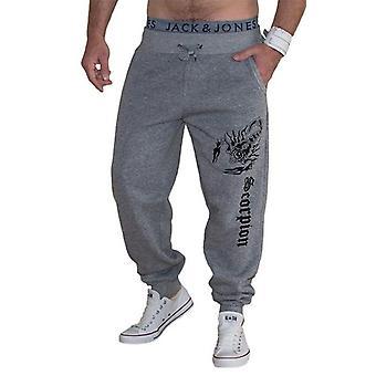 Men's Casual Trousers Scorpion Printing Design Pants