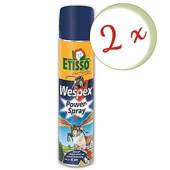 Sparset: 2 x FRUNOL DELICIA® Etisso® Wespex Power-Spray, 600 ml