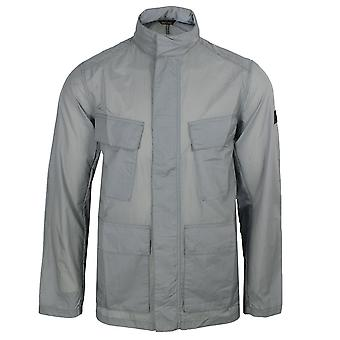 Barbour international men's atholl chrome jacket