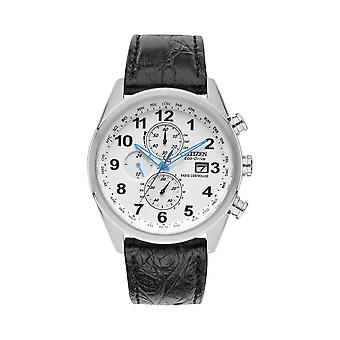 Citizen At8038-08a Herre Eco-drive World Chrono På Limited Edition Watch
