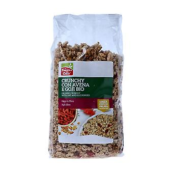 Crunchy with oatmeal and Goji berries 375 g
