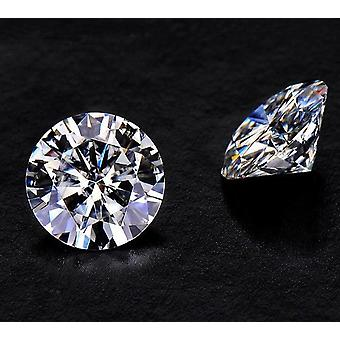 1ct D Color Round Brilliant Cut Moissanite Jewelry Making Loose Stone