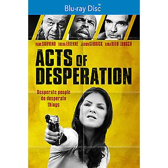 Acts Of Desperation [Blu-ray] USA import