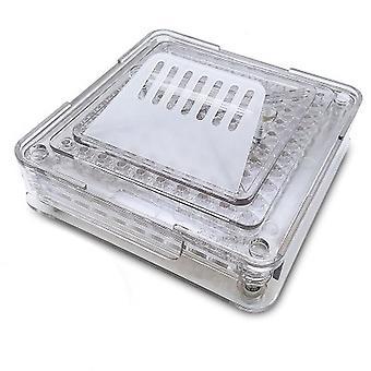 100 agujeros manual cápsula relleno herramienta de llenado de polvo máquina farmacéutica
