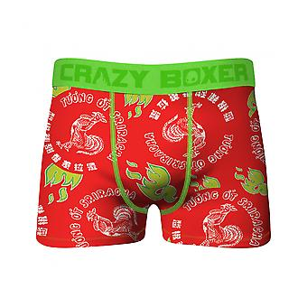 Crazy Boxers Sriracha Rooster All Over Boxer Briefs