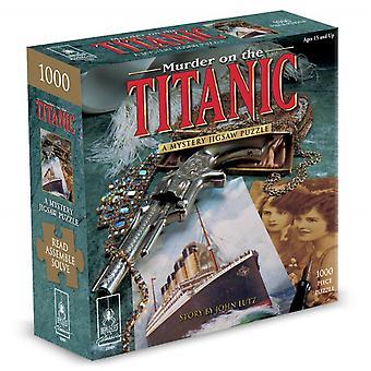 Mistério quebra-cabeça assassinato quebra-cabeça no titanic