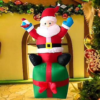 Led Air Inflatable Santa Claus Figure Blower, Indoor, Outdoor Decoration,