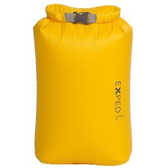 Exped Fold Drybag BS 5L Geel (Klein) -