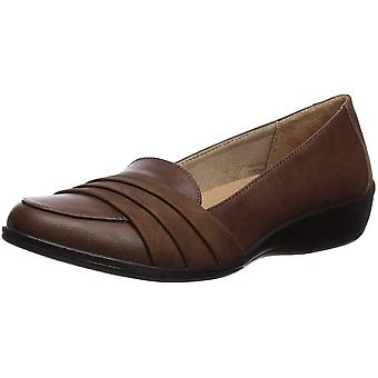 LifeStride Womens F8010S1001 Closed Toe Casual Slide Sandals