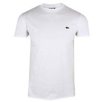Lacoste men's valkoinen pima puuvilla t-paita