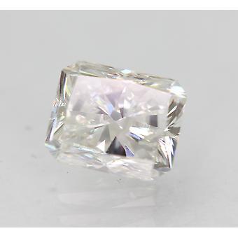 Sertifioitu 1.02 Karat D SI1 Säteilevä parannettu luonnollinen löysä timantti 6.04x4.92m 2VG
