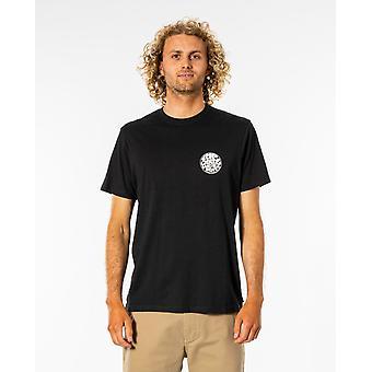 Rip Curl Men's T-Shirt ~ Wettie Essential black