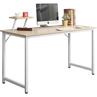 SogesHome Computer Desk Office Desks Computer Workstation Sturdy PC Gaming Desk Home-Office Table