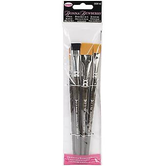 Weber Donna Dewberry Acrylic Brush Set-4 kg