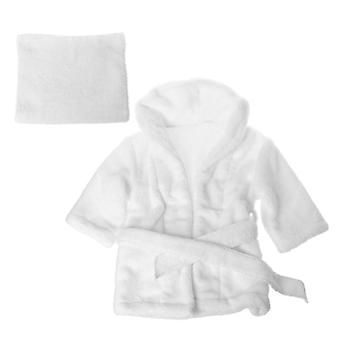 Bathrobes Wrap Newborn Photography Props, Baby Photo Shoot Robe