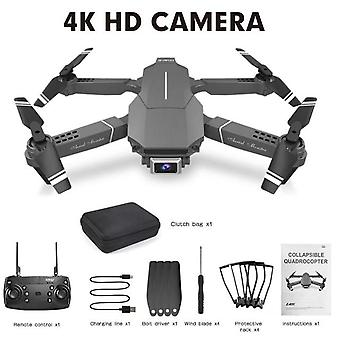 Folding wifi drone 4k/1080p hd professional camera aerial photography gps quadcopter live video black drone app control