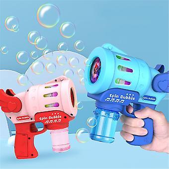 Bubble Machine Automatic Bubble Blowing Cartoon Bubble Maker No-leak Battery Powered Fun Safe Children's Outdoor Toy