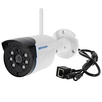 szsinocam 720P HDワイヤレスWIFI弾丸防水IPカメラ1.0MP 1 /4'CMOS 4mmレンズ6pcsアレイIR LEDS H.264 P2P内蔵8G TFカードサポート動き検出電話APPコントロールナイトビジョン屋内屋外セキュリティ用