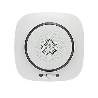 WIFI Gas Detector Household Combustible Gas Leak Detector Natural Liquefied Petroleum Gas Leak Tester Sniffer with Sound Alarm APP Notification Pushing SmartLife Tuya APP Remote Control When combustible gas leaks, and the gas concentration value reaches