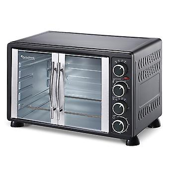 Turbo Tronic Stainless Steel Electric Oven 55 liter - 2200W