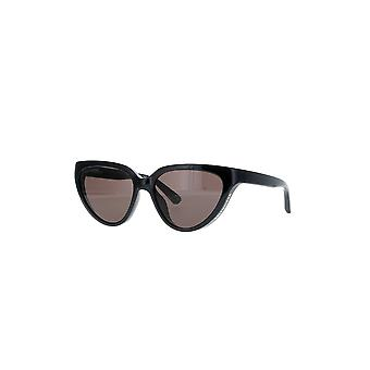 Balenciaga BB0149S 001 Black/Grey Sunglasses