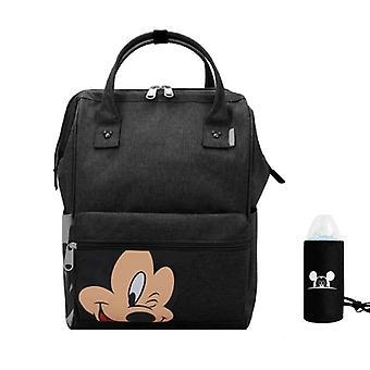 Minnie Diaper Bag, bolso de pañal de maternidad de mamá de moda